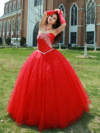 Pin Red Quinceanera Dress Lz426026quinceanera Dresses ...