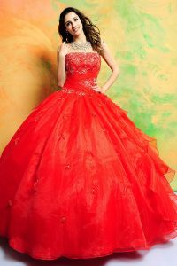 Red Quinceanera Dresses | Dressed Up Girl