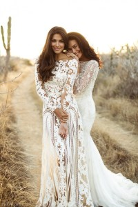 Long Sleeve Wedding Dresses | Dressed Up Girl