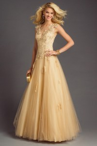 Gold Gown | Dressed Up Girl