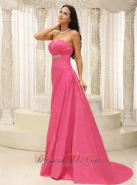 Rose Pink Bridesmaid Dress for Wedding Appliques |Prom ...