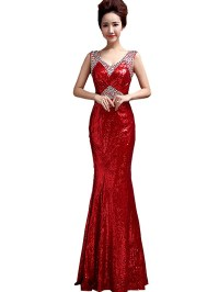 Clearance sale One Shoulder Formal Prom Dress ...