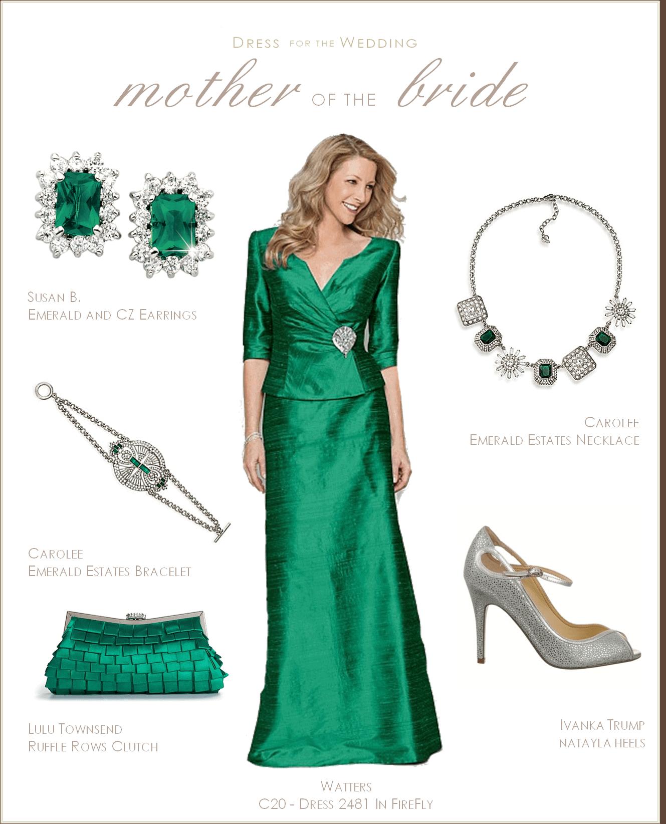 mother of the bride dress emerald green emerald wedding dress