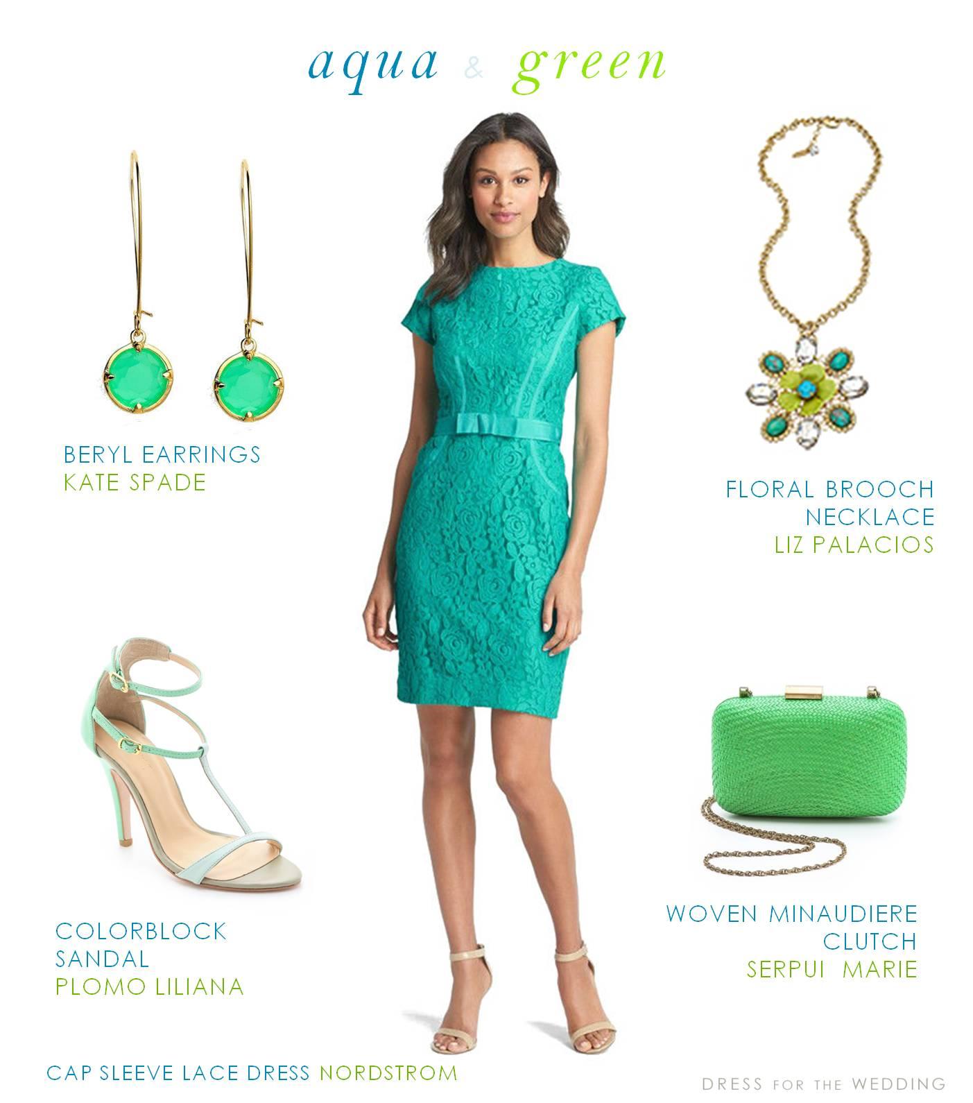 aqua and green dress for a wedding guest wedding guest dresses