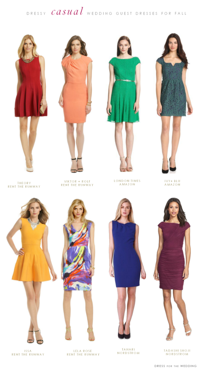What to Wear to a Casual Fall Wedding