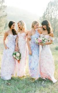 Floral Dresses for Bridesmaids