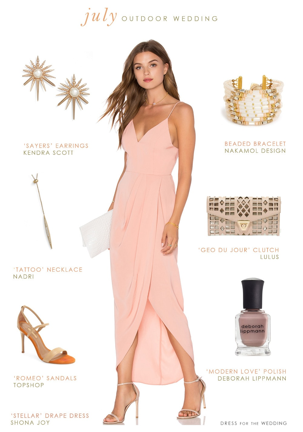 wear outdoor july wedding fall wedding guest dresses What To Wear to a July Outdoor Wedding