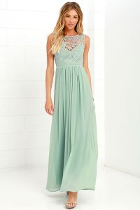 Sage Green and Lavender for Bridesmaids   Dress for the ...