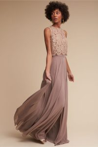 Lace Top Bridesmaid Dresses | Dress for the Wedding