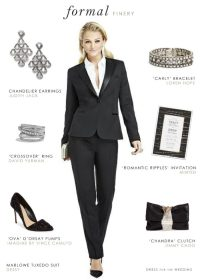 Women's Tuxedo for a Wedding or Black Tie Event | Dress ...