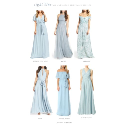 Medium Crop Of Slate Blue Bridesmaid Dresses