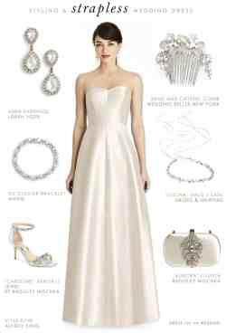 Swanky Cons Strapless Wedding Dresses Hairstyle How To Accessorize A Strapless Wedding Dress How To Accessorize A Strapless Wedding Dress Dress Wedding Strapless Wedding Dresses Pros