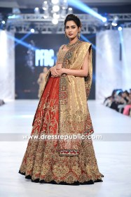 DR14226 - Deep Red Bridal Lehenga