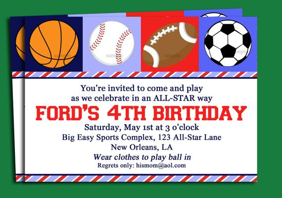 free printable birthday invitations for boy - Towerssconstruction