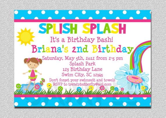 Free Printable Birthday Invitations For Kids FREE Invitation - free printable birthday invitation templates for boys
