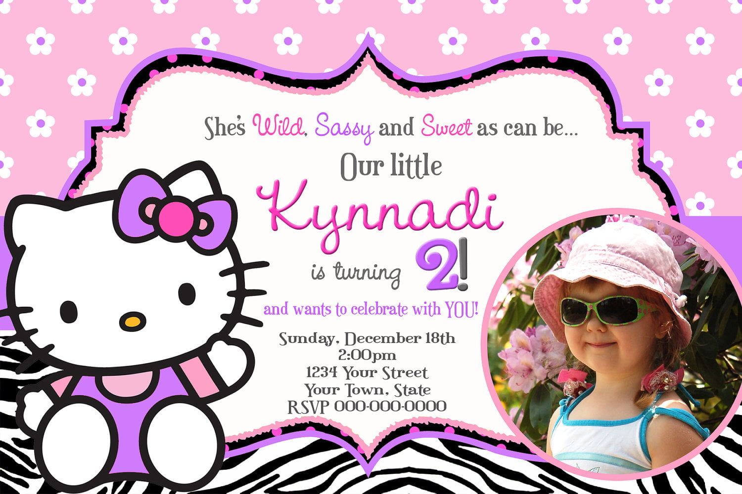 invitation card design hello kitty cover letter templates invitation card design hello kitty smilebox invitations collages slideshows scrapbooks hello kitty birthday invitations drevio invitations