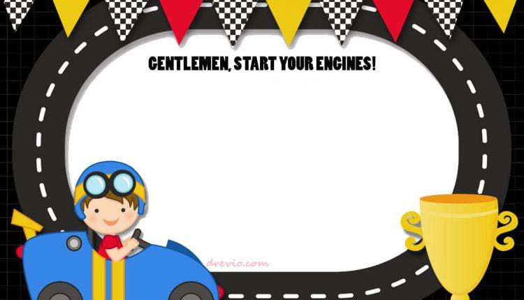 FREE-Printable-Race-Car-Invitation-Template-Circuit-Design \u2013 FREE