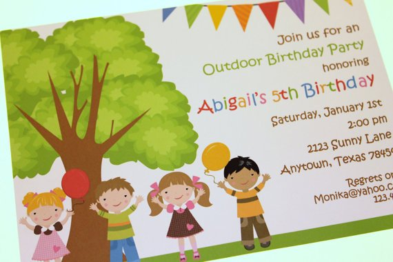 Free Birthday Invitations Templates Kids FREE Invitation Templates