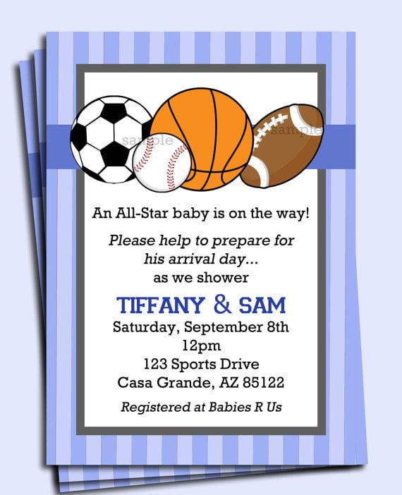Free Printable Sports Birthday Invitations FREE Invitation