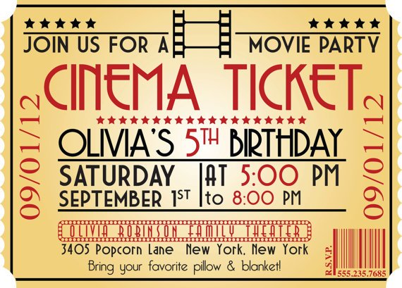 Free printable ticket invitations templates - visualbrainsinfo