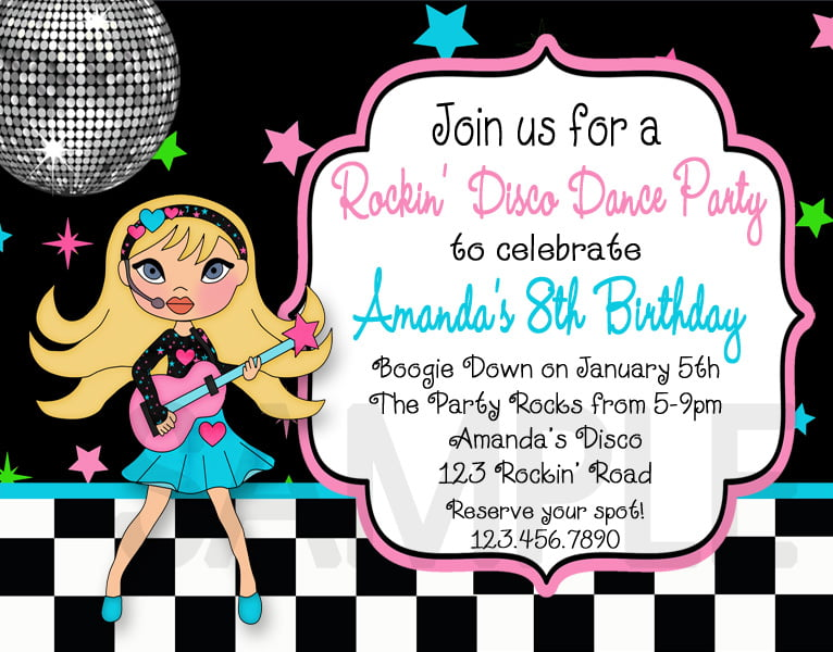 Free Printable Birthday Invitations for Adult FREE Invitation