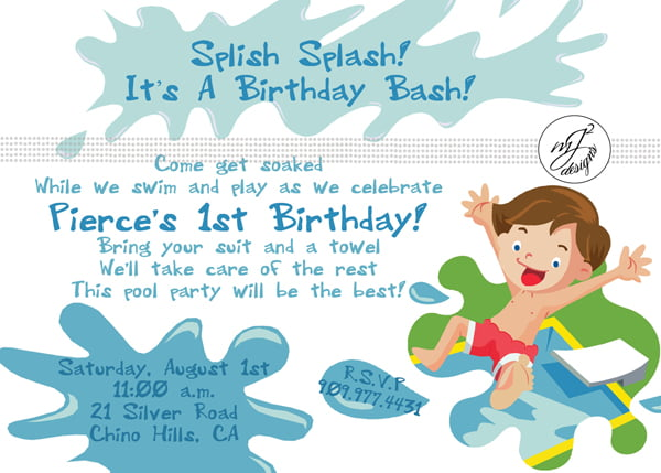 Free 1st Birthday Invitations Templates FREE Invitation Templates - free first birthday invitations templates