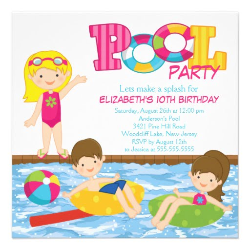 Free Printable Birthday Party Invitations Templates FREE