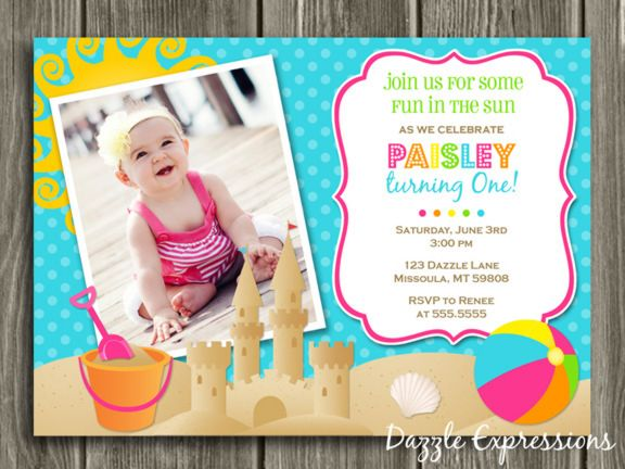 Free 1st Birthday Invitations Templates Drevio Invitations Design - free first birthday invitation template