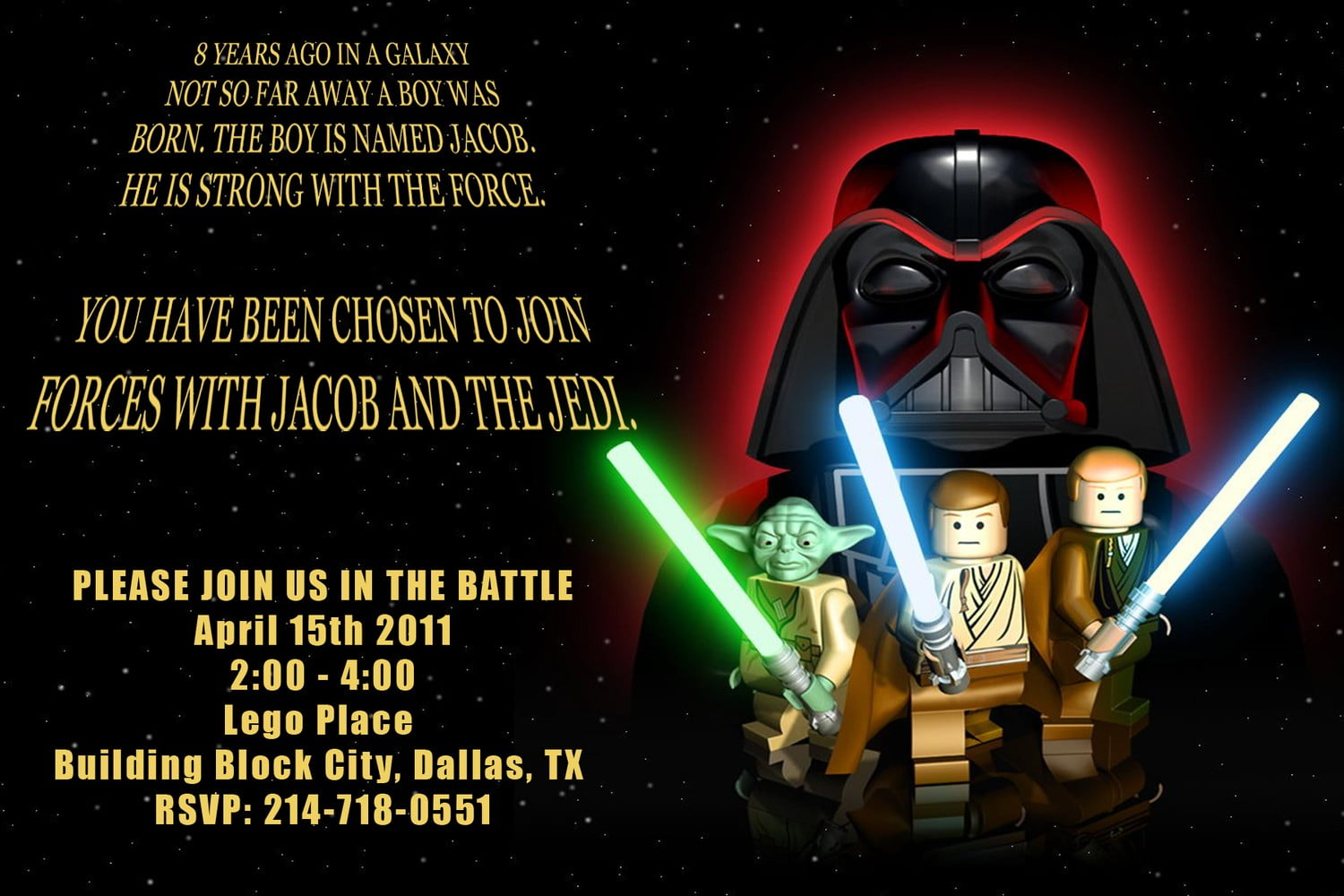 Star Wars Birthday Invitations Wording Free Invitation