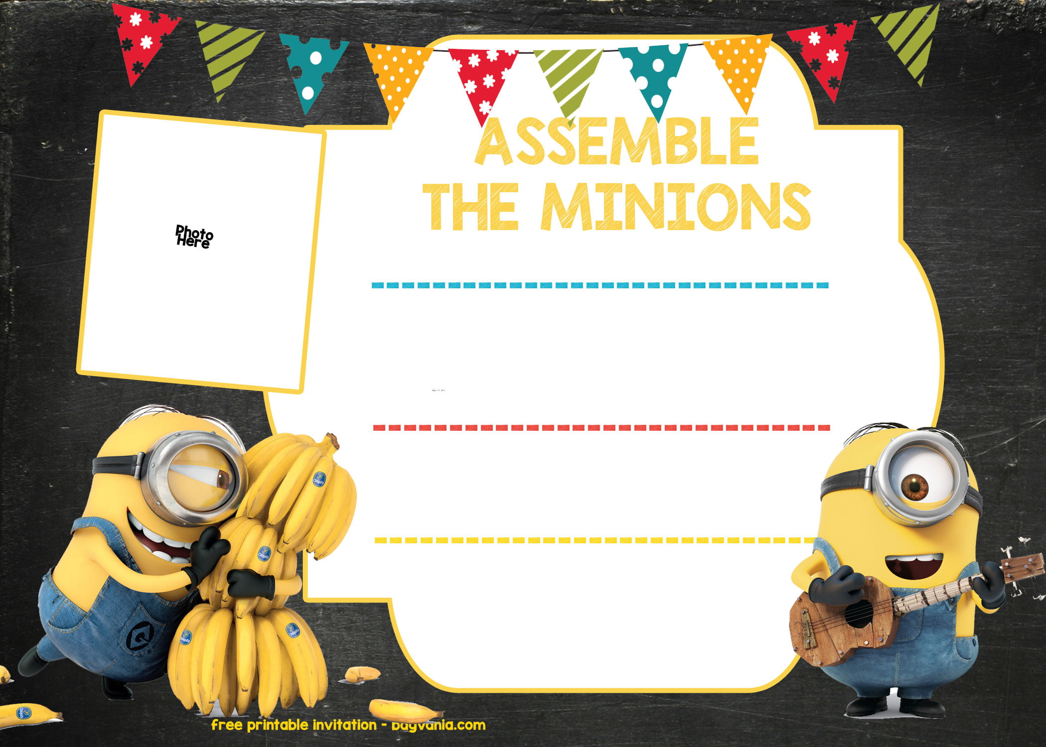 New Wallpaper Hd Boy And Girl Free Printable Minion Birthday Party Invitations Ideas