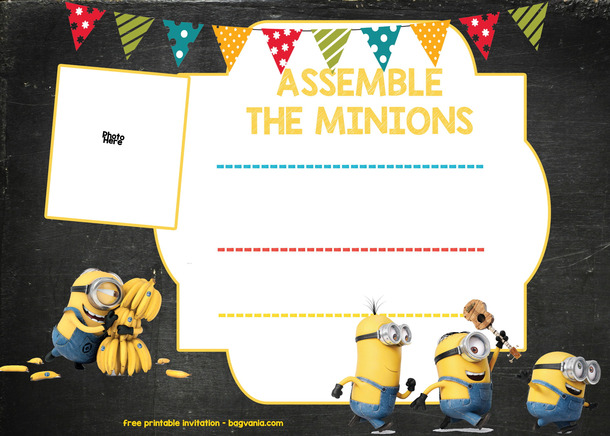 birthday invitation background templates