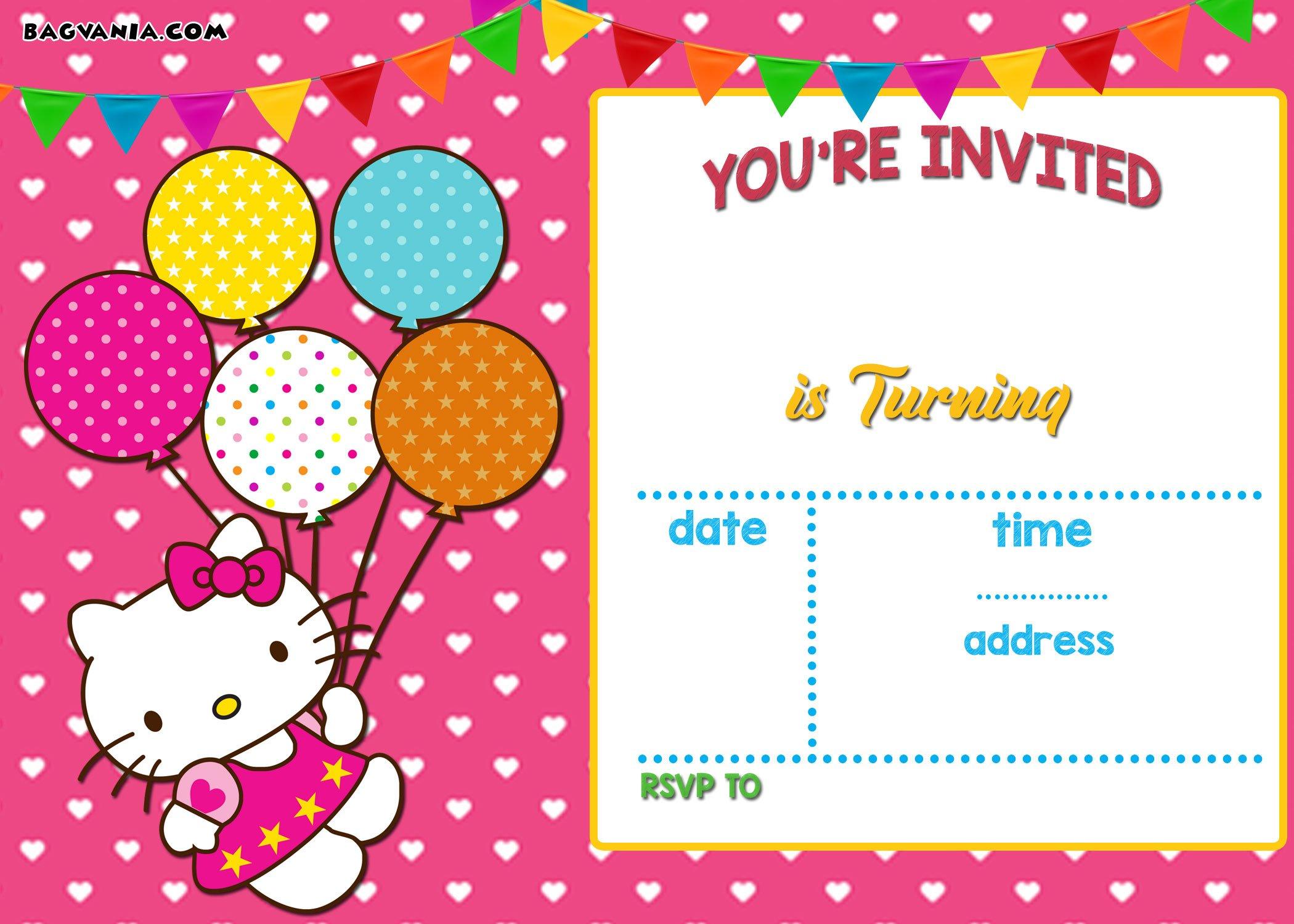 create invitation card free