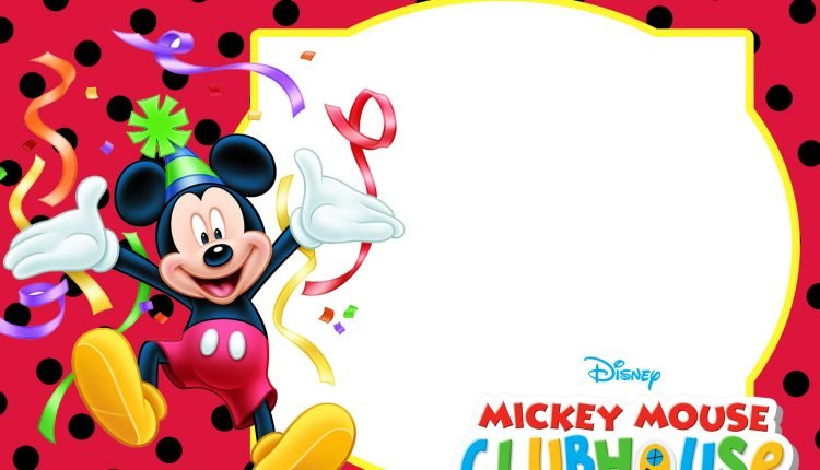 FREE-Mickey-Mouse-Birthday-Invitation-Template \u2013 FREE Invitation