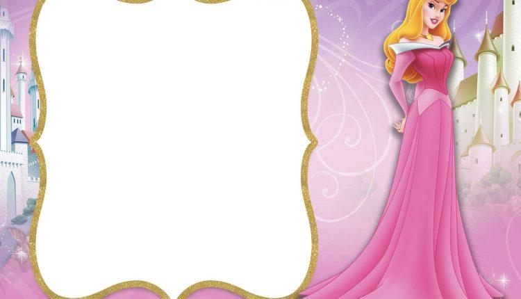 FREE-Printable-Princess-Aurora-Invitation-Template \u2013 FREE Invitation