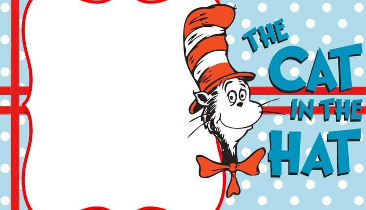 FREE-Printable-dr-Seuss-Cat-in-the-Hat-Invitation-Template \u2013 FREE