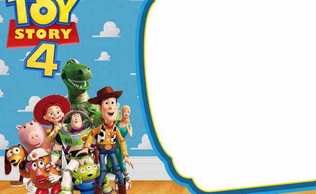 Free Printable Toy Story 4 Invitation Templates Free