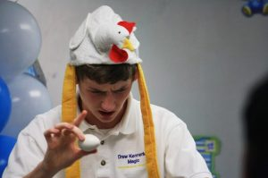 drew kennerley magic chicken hat