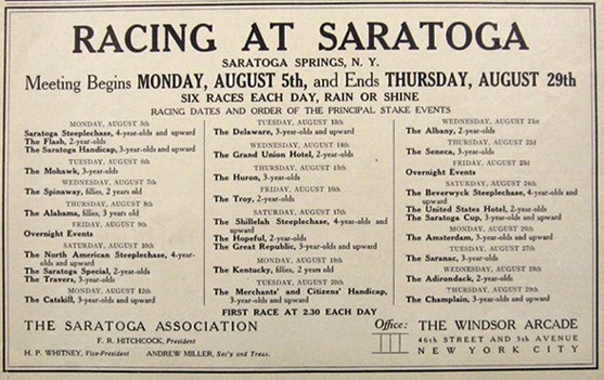 Saratoga Day 30 August 22, 2013 Daily Racing Form - racing form