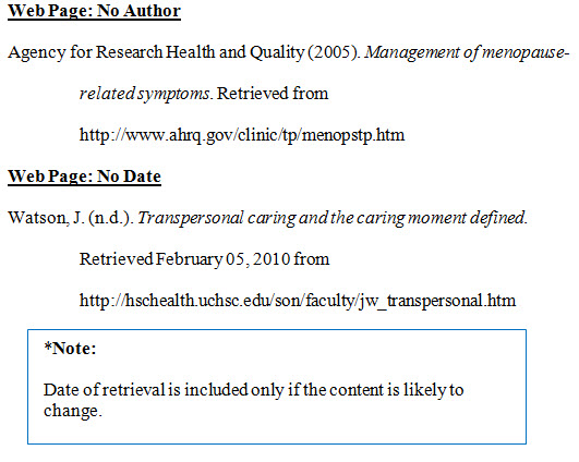 How to write a bibliography in APA-style?