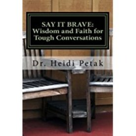 Say it Brave book cover