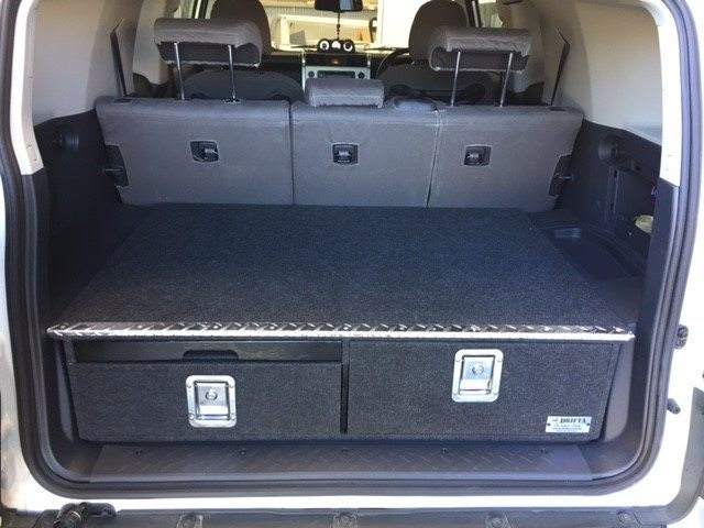 Fj Cruiser Storage Drawers Package 1240 Drifta