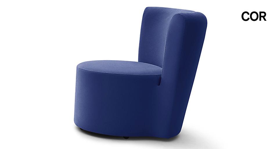 Ausgezeichnet Amalia Lounge Sessel Ergonomische Form Attraktiv ...
