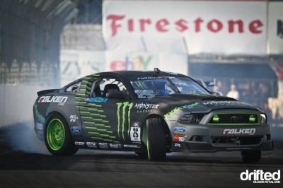Monster Energy Ford Mustang Vaughn Gittin Jr - Drifted.com