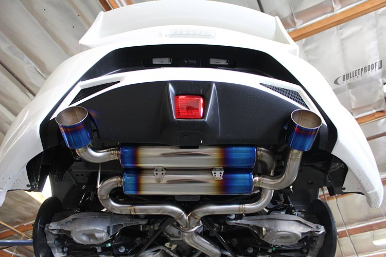 Ultimate 370z Exhaust Guide Drifted