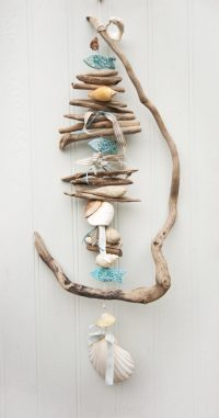 Twisted Driftwood Hanging Coastal Decor - Driftwood Dreaming
