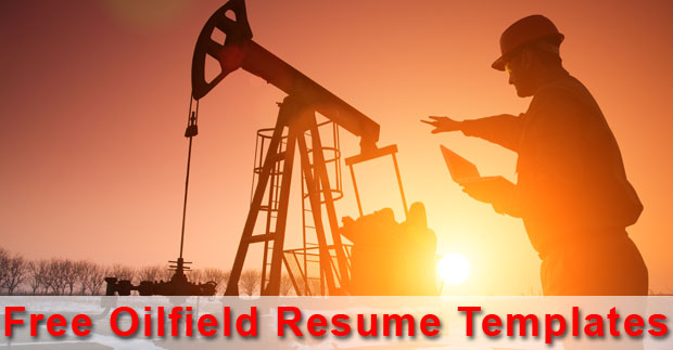 5 Useful Oilfield Resume Templates - Drilling Formulas and Drilling