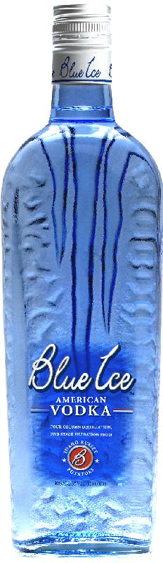 blue ice vodka