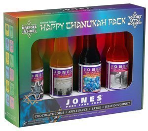 happychanukahpak med Review: Jones Soda Chanukah Pack 2007
