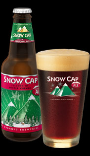 snow cap Review: Pyramid Brewing Snow Cap Ale