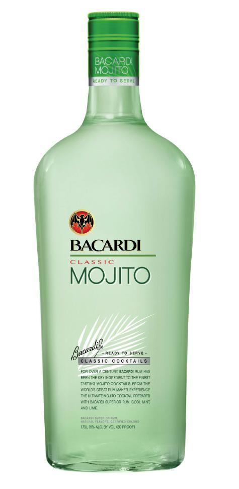 bacardi classic mojito Review: Bacardi Classic Cocktail Mojito